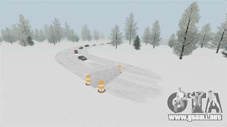 Ubicación del país de las maravillas del Ártico para GTA 4 adelante de pantalla