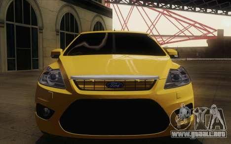 Ford Focus 2009 para la visión correcta GTA San Andreas