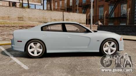 Dodge Charger 2012 para GTA 4 left