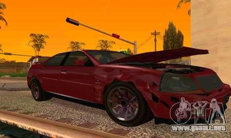 Presidente del GTA IV para GTA San Andreas vista posterior izquierda