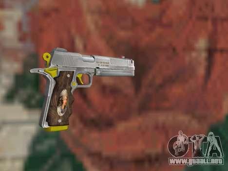 Ebony para GTA San Andreas segunda pantalla