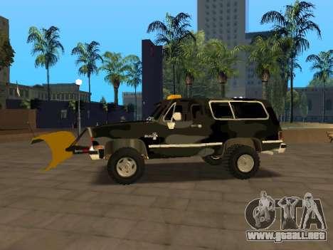 Chevrolet Blazer para GTA San Andreas left