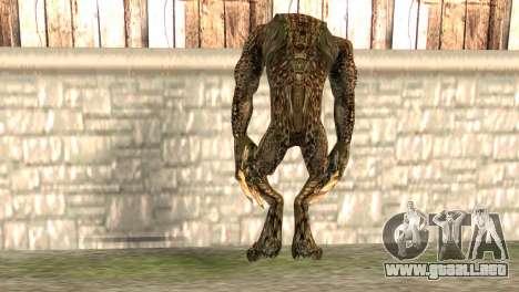 Hunter para GTA San Andreas segunda pantalla