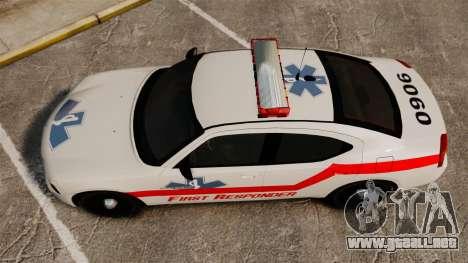 Dodge Charger First Responder [ELS] para GTA 4 visión correcta