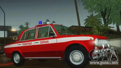 VAZ 21011 proteccion contra el fuego para GTA San Andreas