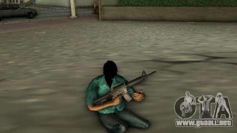Carabina M4 para GTA Vice City tercera pantalla