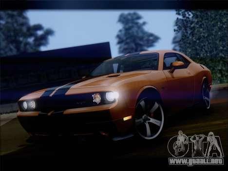 Dodge Challenger SRT8 2012 HEMI para GTA San Andreas left