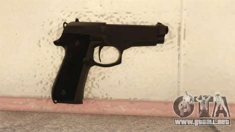Beretta 92 FS para GTA San Andreas segunda pantalla