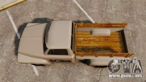 Hot Rod Truck Gas Monkey v2.0 para GTA 4 visión correcta