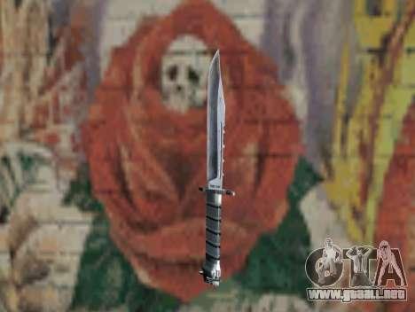 Cuchillo de S.T.A.L.K.E.R. para GTA San Andreas