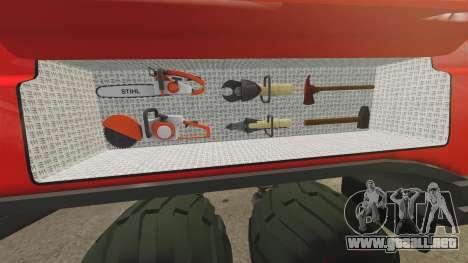 Pro Track SR2 Firetruck [ELS] para GTA 4 vista desde abajo