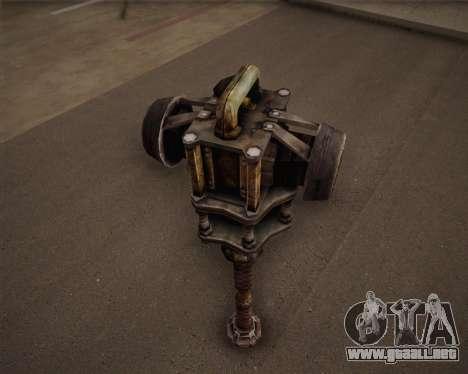 Mutante bate de Fallout 3 para GTA San Andreas tercera pantalla