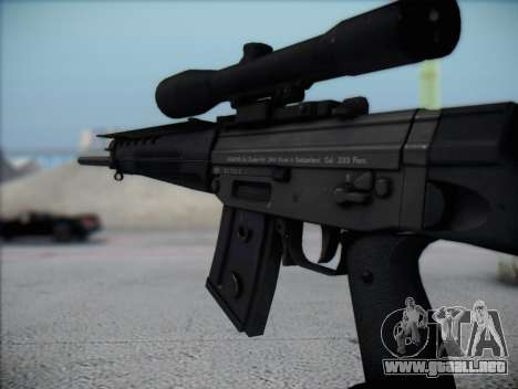 Rifle de francotirador HD para GTA San Andreas sucesivamente de pantalla
