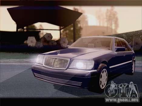 Mercedes-Benz S600 V12 V1.2 para la visión correcta GTA San Andreas