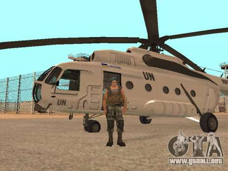 Formulario para CJ para GTA San Andreas tercera pantalla