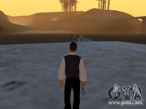 Un mito sobre el pescador para GTA San Andreas segunda pantalla