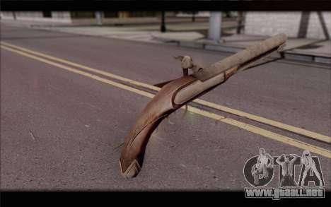 Pistola de pedernal-Lock para GTA San Andreas segunda pantalla