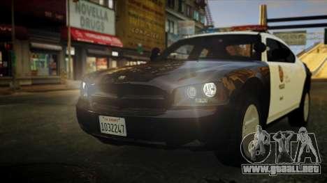 Dodge Charger LAPD 2008 para GTA 4