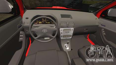Toyota Hilux British Rapid Fire Cover [ELS] para GTA 4 vista lateral