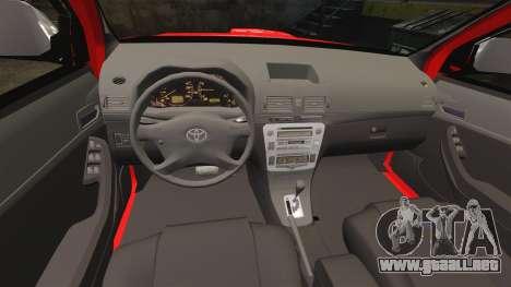 Toyota Hilux FDNY v2 [ELS] para GTA 4 vista lateral