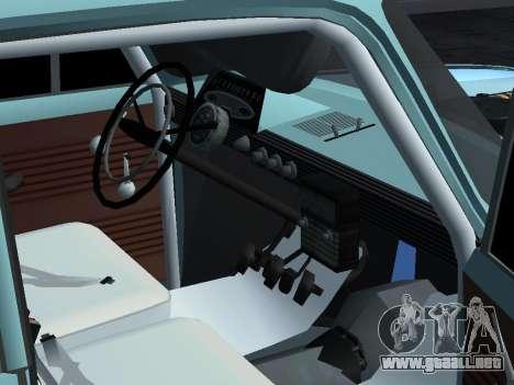 Moskvich 412 Rally para la visión correcta GTA San Andreas