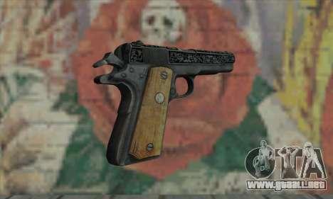 Colt 45 fuera de la oscuridad 2 para GTA San Andreas segunda pantalla