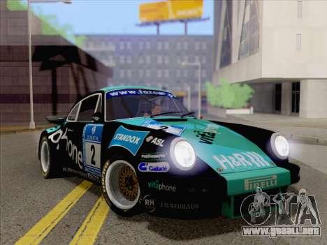 Porsche 911 RSR 3.3 skinpack 2 para la visión correcta GTA San Andreas