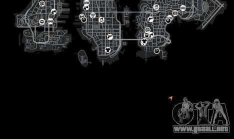 Ubicación StartMap para GTA 4 quinta pantalla