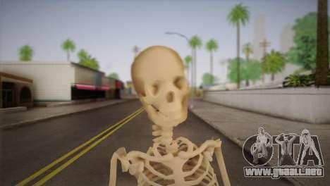 Esqueleto para GTA San Andreas tercera pantalla