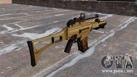 Rifle de asalto táctico HK G36C para GTA 4 segundos de pantalla