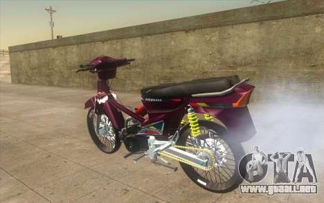 Honda Dream 100 VietNam para GTA San Andreas left