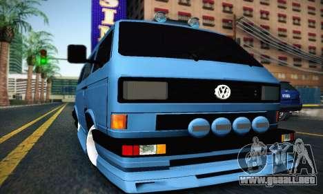 Volkswagen Transporter T2 Tuning para GTA San Andreas left