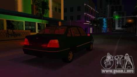 Daewoo Cielo para GTA Vice City vista posterior