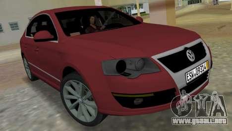 Volkswagen Passat 2007 para GTA Vice City