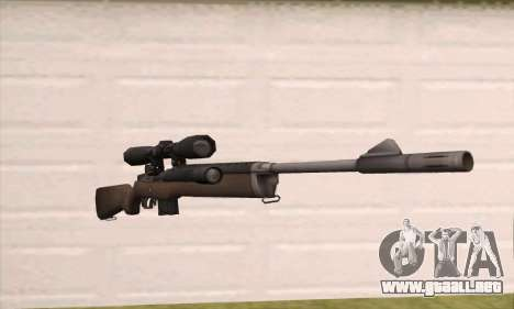 Rifle de francotirador de Left 4 Dead 2 para GTA San Andreas