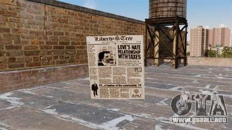 Cóctel Molotov-periódico - para GTA 4