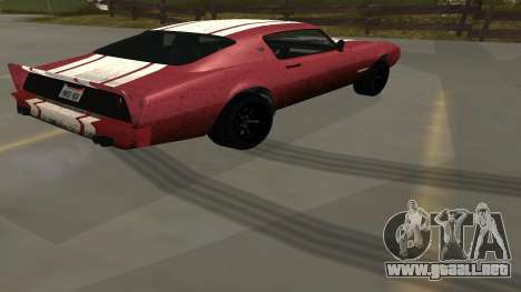 Phoenix de GTA V para GTA San Andreas left