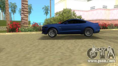 Ford Mustang GT 2015 para GTA Vice City left