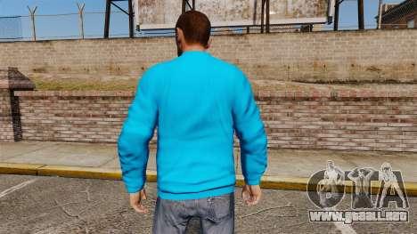 Suéter-Banco - para GTA 4 segundos de pantalla