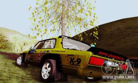 Lada 2105 VFTS para GTA San Andreas left