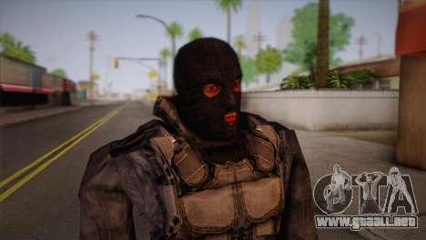 Un mercenario de l. a. t. s. k. e. R para GTA San Andreas tercera pantalla