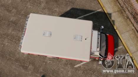 Ford E-350 LCFR [ELS] para GTA 4 visión correcta