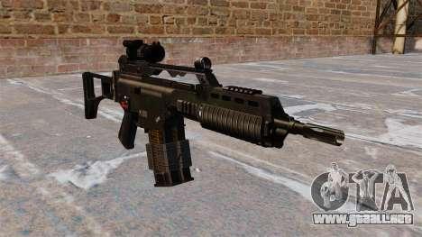 Rifle de asalto HK G36k para GTA 4