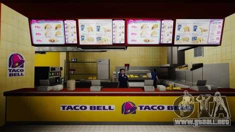 Comer McDonalds y Taco Bell para GTA 4 sexto de pantalla