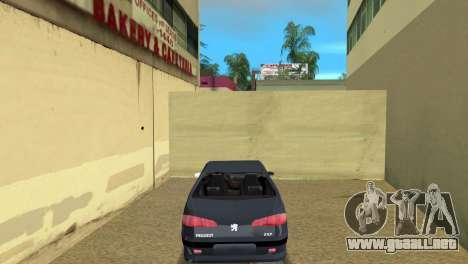 Peugeot 607 V6 para GTA Vice City vista lateral izquierdo
