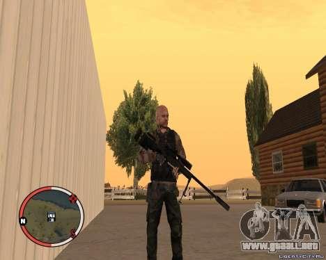L115A3 Sniper Rifle para GTA San Andreas segunda pantalla