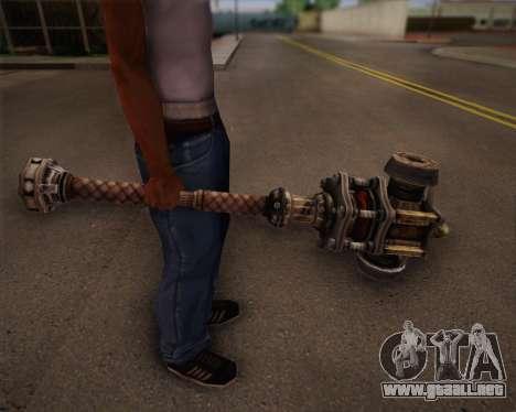 Mutante bate de Fallout 3 para GTA San Andreas sucesivamente de pantalla