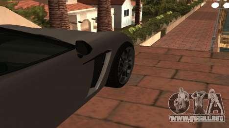 Carbonizzare de GTA 5 para GTA San Andreas vista hacia atrás