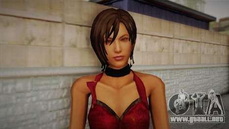 Ada Wong para GTA San Andreas tercera pantalla