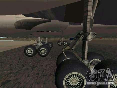 Boeing-747 Dream Lifter para la visión correcta GTA San Andreas
